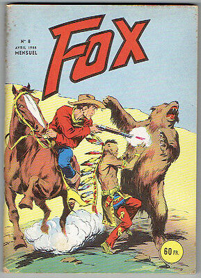 FOX N°8 Très Bon Etat - Editions Lug avril 1955-