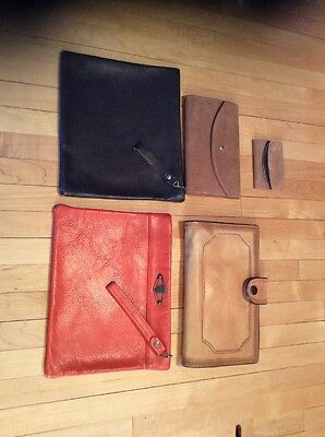 Lot Of Vintage Bags Purse Clutch Wallet Leather