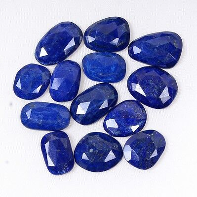 Natural LAPIS Faceted Fancy Cut Top Quality Wholesale Price Lot Loose Gemstone