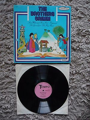 Brian Matthew Introduces The Brothers Grimm Snow White Rapunzel Tempo Vinyl LP