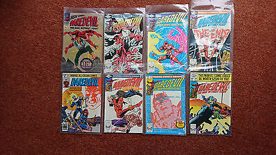 daredevil frank miller lot of 7 + issue 24 (silver age)