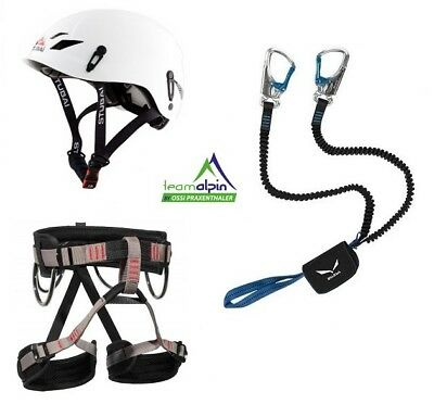 Klettersteigset Salewa Via Ferrata Premium Attac+ Start Gurt + Stuabi Fuse Light