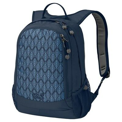 Jack Wolfskin Rucksack Perfect Day Midnight Blue Geometric Leaves