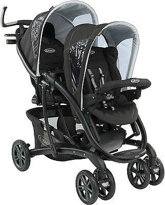 Graco QUATTRO TOUR DUO SPORT LUXE Twin/Double Pushchair/Stroller 0m+ BN