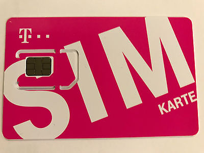T-Mobile PrePaid data SIM only with 10GB LTE data credit for Austria Triple SIM