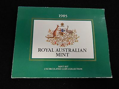 1985 Royal Australian Mint Uncirculated Coin Collection