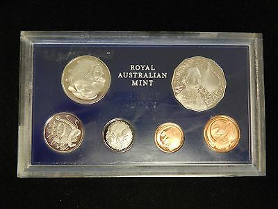 1970 Royal Australian Mint Proof Set *Rare*