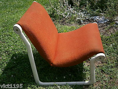 Original Mid Century Modern Knoll International Sling Lounge Chair