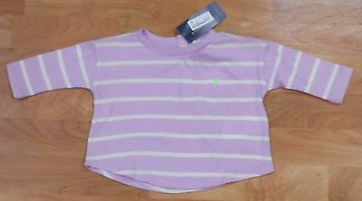 NWT Ralph Lauren Polo Infant/Baby Girl's Long Sleeved Spring Shirt Sz. 3 Month