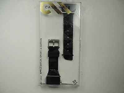 Case-Mate  Facets Smartwatch Glitter Band for Apple Watch 38mm Black CM032783
