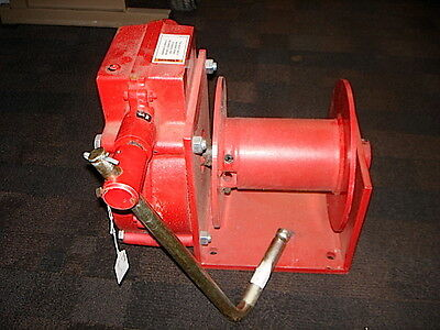 Thern 482 Hand Winch - Worm Gear - With Brake - 4000 Lbs.