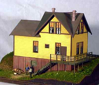 Building & Structure Co S Scale Vance Junction Section House Csm 124 S