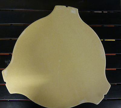 "Super Heat Reflector Plate High Quality Stone For 21"" Kamado Grill BBQ Oven New"