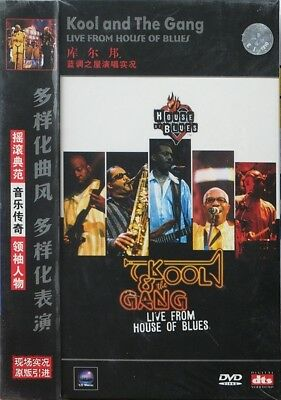 Kool And The Gang Live House Of Blues DVD import concert 2003 music movie EF
