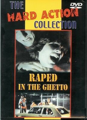 Raped in the Ghetto DVD Hard Action Collection R0/All Art Garfunkel Crime WF