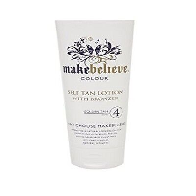 MakeBelieve Self Tan Lotion With Bronzer 200ml