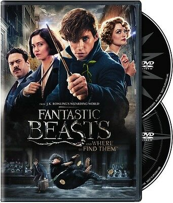 Fantastic Beasts & Where To Find Them (2017, REGION 1 DVD New)