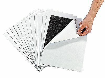 "Awesome Adhesive Magnetic Sheets (12 Pack) Peel & Stick + Flexible 8 1/2"" X 1..."