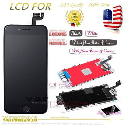 """For iPhone 6S 4.7"""" LCD Display Touch Screen Digitizer + Home Button + Camera US"""