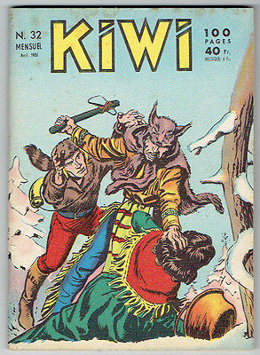 KIWI n°32 – Editions LUG – Avril 1958 – TBE/NEUF