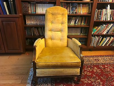Vintage American of Martinsville Chair High Back Arm Chair mid century / earlier