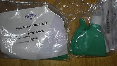 anesthesia breathing bag 0.5l-lf(2 of them)