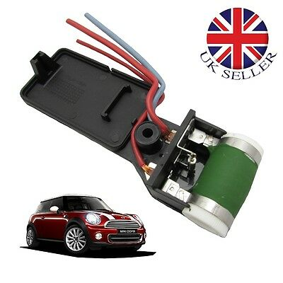 Mini Cooper Radiator Fan Resistor Switch 1.6 Repair R50 R53 Engine Cooling