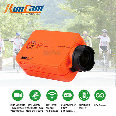 RUNCAM 2 WIFI Sports Action Camera HD 1080p & Phone App For