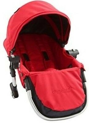 Baby Jogger City Select Second Seat Kit with Silver Frame Ruby