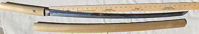 Japanese Sword /  Long signed blade in polish / Shinsakuto