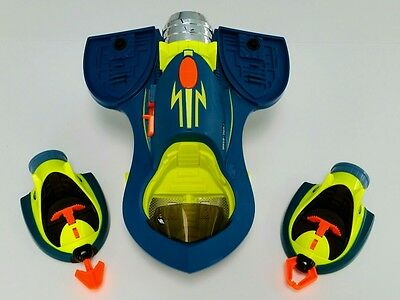 Fisher-Price PLANET HEROES ElectronicTurbo Space Shuttle w/ Sounds &Turbo-Action