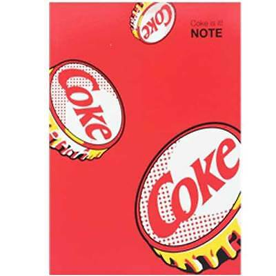 Coca Cola Collectibles Bookbinding Note Red Lid Cap