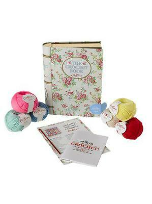 The Crochet Book (Tin with book and project) by Cath Kidston | Hardcover Book |