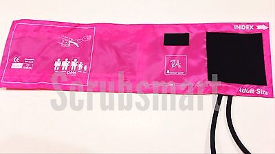 BP ONLY Blood Pressure Manual Monitor Aneroid Sphygmomanometer - Hot Pink