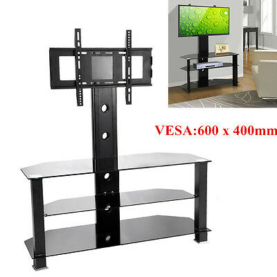 """Panana Cantilever Glass TV Stand & Bracket For 32""""- 52"""" Flat Screen Plasma LCD"""