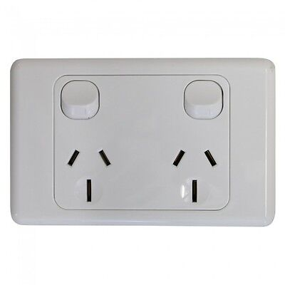 Double 15Amp Powerpoint / GPO Outlet