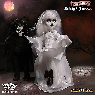 Living Dead Dolls Presents - Beauty and the Beast 2 Pack By Mezco IN STOCK
