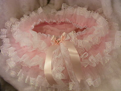 Adult Baby Sissy Pink Allround Diaper Nappie Cover Panties Op W/proof Locking