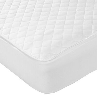 Waterproof Quilted Mattress Protector All Sizes Fitted Bed Cover Anti Allergy
