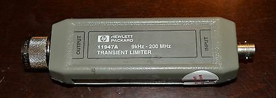HP Agilent 11947A Transient Limiter with High Pass Filter 9khz-200MHz GOOD