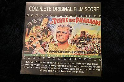 Land of the Pharaohs Film Score (2-CD) LIMITED ARCHIVAL PRESSING - RARE