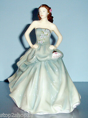 Royal Doulton Happy Birthday Pretty Ladies 2013 Figurine HN5587 New
