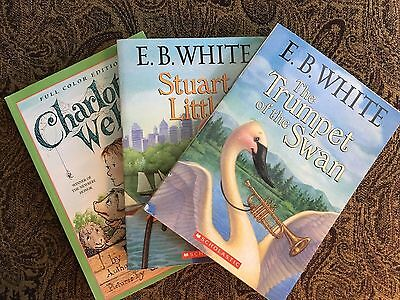 New/Like New*** Lot of 3 *** E.B. WHITE*** Charlotte's Web Special Edition!!