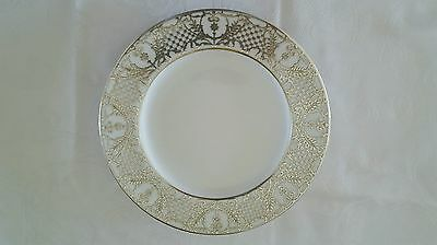 """Vintage Copeland 10 1/2 """" Plate With Heavy Silver Overlay"""