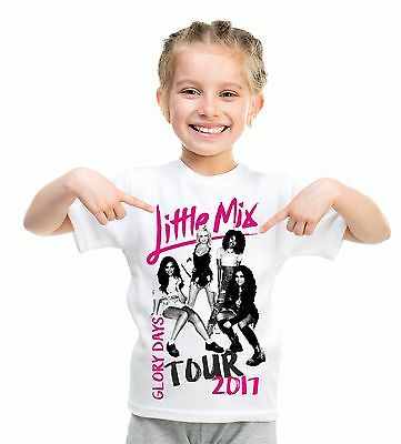 Little Mix t shirt glory days tour children's top birthday gift 10