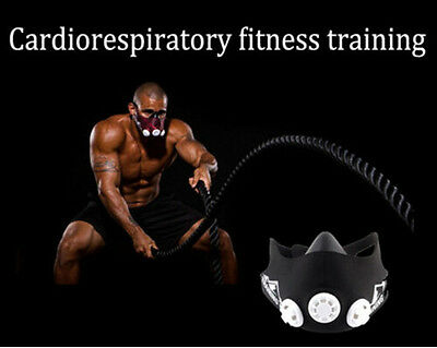 Intense Breathing Training MMA Strength Muscle Fitness Mask high altitude