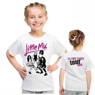 Little Mix tour t shirt glory days tour children's top birthday gift 12