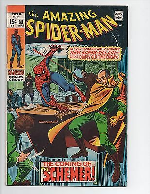 Amazing Spider-Man #83 Silver Age 1st Appearance The Schemer FN/VF