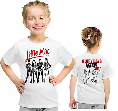Little Mix tour t shirt glory days tour children's top birthday gift 13