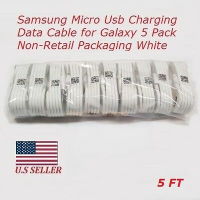 10x OEM Samsung Rapid Charge Micro USB Cable For Android Phones